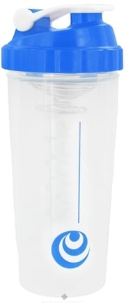 Spider Bottle - SpiderMix Maxi Shaker Bottle Clear Blue - 32 oz.