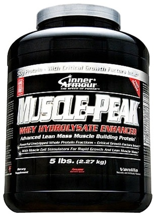 DROPPED: Inner Armour - Muscle-Peak Whey Hydrolysate Enhanced Vanilla - 5 lbs.