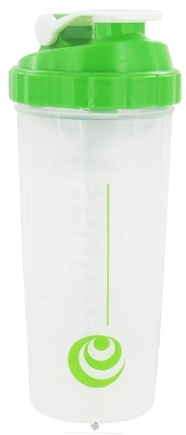 Spider Bottle - SpiderMix Maxi Shaker Bottle Clear Green - 32 oz.