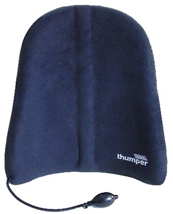 Thumper Massager - Flexor Pro Active Back Support with Adujustable Air Pump H602