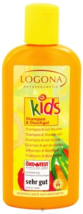 DROPPED: Logona - Kids Shampoo & Shower Gel - 6.8 oz. CLEARANCE PRICED