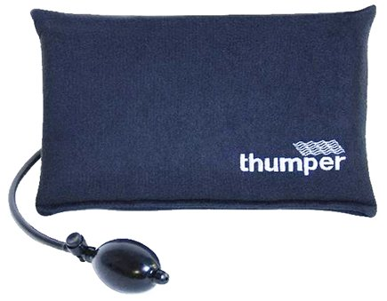 DROPPED: Thumper Massager - Companion Portable Neck and Back Support with Adjustable Air Pump H601