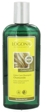 DROPPED: Logona - Shampoo Color Care Chamomile for Blonde Hair - 8.5 oz.