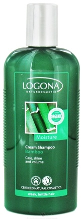 DROPPED: Logona - Shampoo Cream Moisture Bamboo - 8.5 oz. CLEARANCE PRICED
