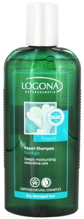 DROPPED: Logona - Shampoo Repair Ginkgo - 8.5 oz. CLEARANCE PRICED