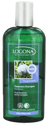 DROPPED: Logona - Shampoo Treatment Juniper - 8.5 oz. CLEARANCE PRICED