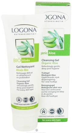 DROPPED: Logona - Cleansing Gel Organic Aloe - 2.5 oz. CLEARANCE PRICED