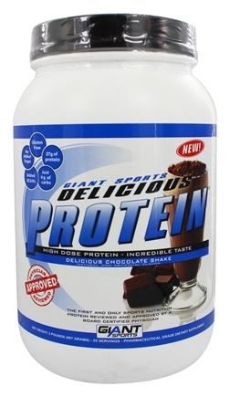 DROPPED: Giant Sports Products - Delicious Protein Powder Chocolate Shake - 2 lbs.