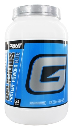 Giant Sports Products - Delicious Protein Powder Elite Vanilla Shake - 2 lbs.