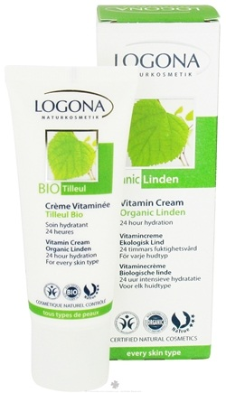 DROPPED: Logona - Vitamin Cream Organic Linden - 1.35 oz. CLEARANCE PRICED