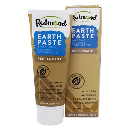 Redmond Trading - Earthpaste Amazingly Natural Toothpaste Peppermint - 4 oz.