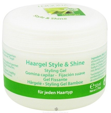 DROPPED: Logona - Hair Styling Gel Bamboo Style & Shine - 1.7 oz. CLEARANCE PRICED