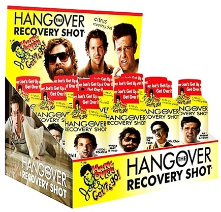 DROPPED: Hangover Joe's - The Hangover Recovery Shot - 2 oz. CLEARANCE PRICED