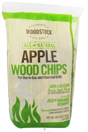 DROPPED: Woodstock Farms - All-Natural Apple Wood Chips - 2.94 Liter(s) CLEARANCE PRICED