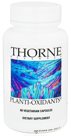 DROPPED: Thorne Research - Planti-Oxidants - 60 Vegetarian Capsules CLEARANCE PRICED