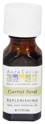 Aura Cacia - Essential Oil Carrot Seed - 0.5 oz.