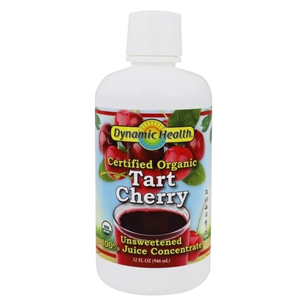 Dynamic Health - USDA Organic Juice Concentrate Tart Cherry - 32 oz.