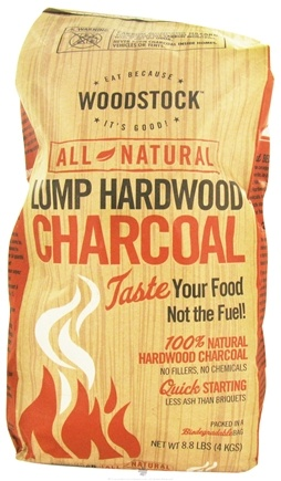 DROPPED: Woodstock Farms - All-Natural Lump Hardwood Charcoal - 8.8 lbs. CLEARANCE PRICED