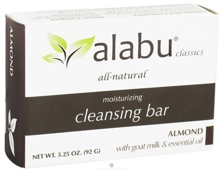 DROPPED: Alabu - Moisturizing Goat's Milk Cleansing Bar Almond - 3.25 oz.