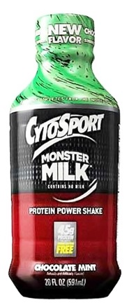 DROPPED: Cytosport - Monster Milk RTD Protein Power Shake Chocolate Mint - 20 oz. DAILY DEAL