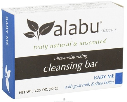 DROPPED: Alabu - Ultra-Moisturizing Goat's Milk Cleansing Bar Baby Me - 3.25 oz.