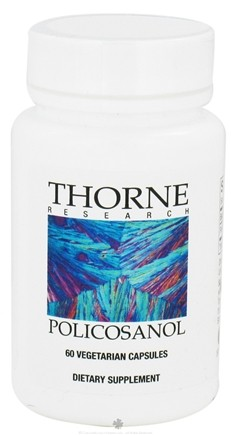 DROPPED: Thorne Research - Policosanol - 60 Vegetarian Capsules