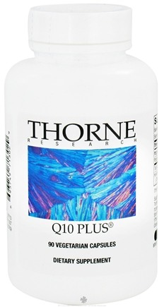 DROPPED: Thorne Research - Q10 Plus - 90 Vegetarian Capsules