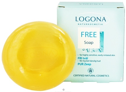 DROPPED: Logona - Bar Soap Fragrance Free - 3.5 oz.