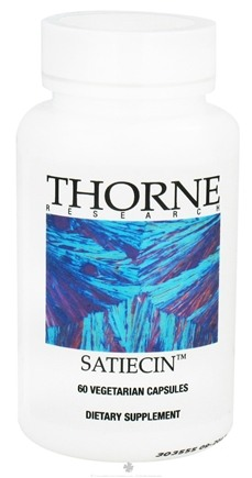 DROPPED: Thorne Research - Satiecin - 60 Vegetarian Capsules CLEARANCE PRICED