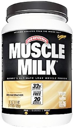 DROPPED: Cytosport - Muscle Milk Genuine Nature's Ultimate Lean Muscle Protein Graham Cracker - 2.47 lbs. CLEARANCE PRICED