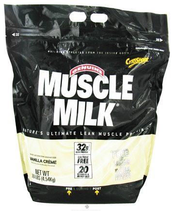 DROPPED: Cytosport - Muscle Milk Genuine Nature's Ultimate Lean Muscle Protein Vanilla Creme - 10 lbs.