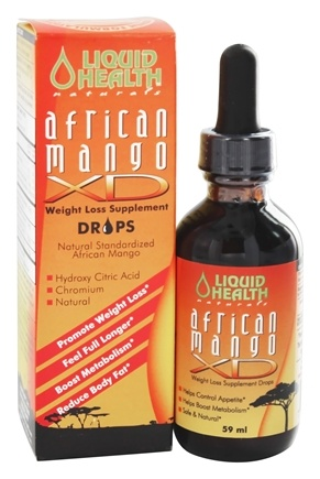 Liquid Health - African Mango XD Drops - 2 oz.