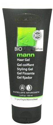 DROPPED: Logona - Mann Styling Gel Bio Ginkgo & Caffeine - 3.4 oz. CLEARANCE PRICED