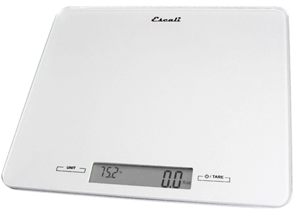 Escali - Alta High Capacity Digital Food Scale 2210G