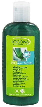 DROPPED: Logona - Daily Care Body Lotion Organic Aloe + Verbena - 6.8 oz. CLEARANCE PRICED