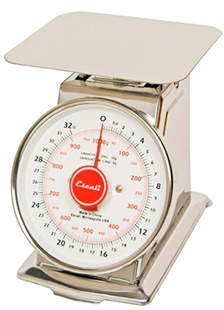 DROPPED: Escali - Mercado Dial Scale With Plate 2 lb Capacity DS21P