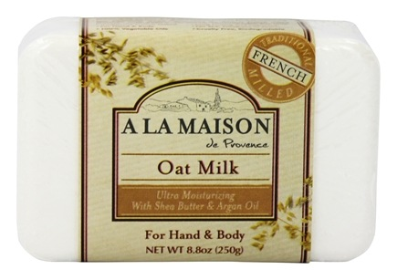 A La Maison - Traditional French Milled Bar Soap Oat Milk - 8.8 oz.
