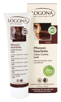 Logona - Herbal Hair Color Cream Teak - 5.1 oz.