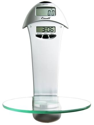 Escali - Penduline Wall Mountable Digital Scale 63W