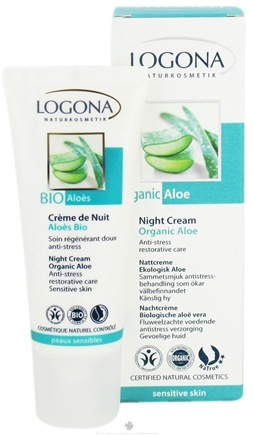 DROPPED: Logona - Night Cream Organic Aloe - 1.35 oz.