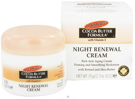 DROPPED: Palmer's - Cocoa Butter Formula Night Renewal Cream with Vitamin E - 2.7 oz.