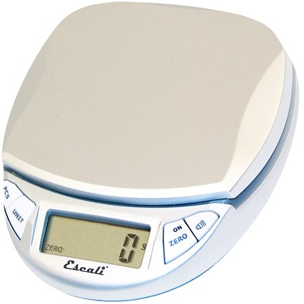 Escali - Pico Digital Pocket Scale N115S Silver Gray