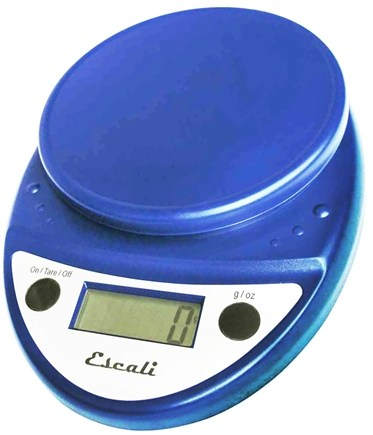 Escali - Primo Digital Food Scale P115NB Royal Blue