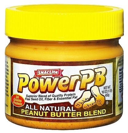 DROPPED: SNACLite - Power PB All Natural Peanut Butter Blend - 16 oz.