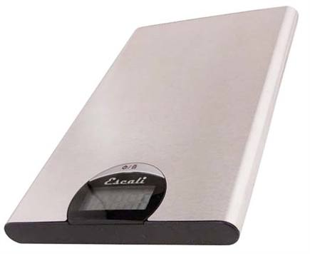 Escali - Tabla Ultra Thin Digital Scale T115S