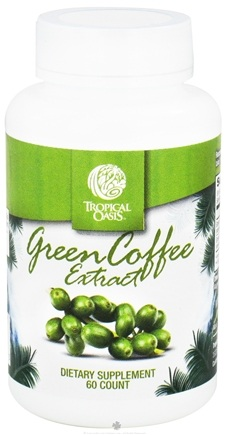 DROPPED: Tropical Oasis - Green Coffee Extract - 60 Capsules
