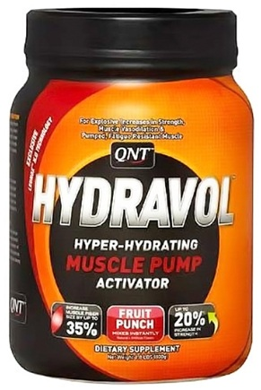 DROPPED: QNT - Hydravol Hyper-Hydrating Muscle Pump Activator Fruit Punch - 1.8 lbs. CLEARANCE PRICED