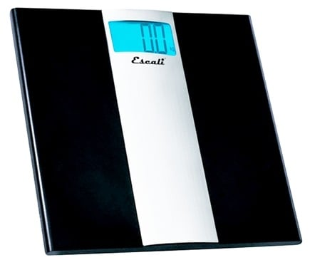 Escali - Ultra Slim Digital Bathroom Scale US180B
