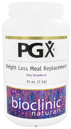 DROPPED: Bioclinic Naturals - PGX Weight Loss Meal Replacement Very Strawberry - 35 oz.