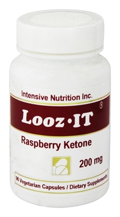 DROPPED: Intensive Nutrition, Inc. - Looz It Raspberry Ketone 200 mg. - 90 Vegetarian Capsules